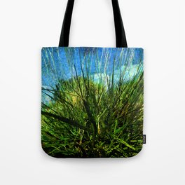 just green Tote Bag