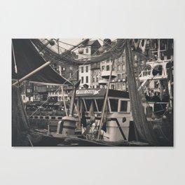 Harbor Le Havre France Canvas Print