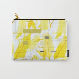 Yellow Deco Carry-All Pouch