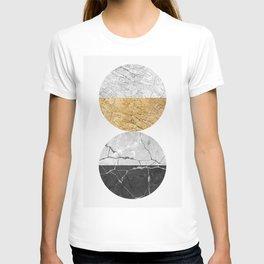 Geometric texture V T-shirt