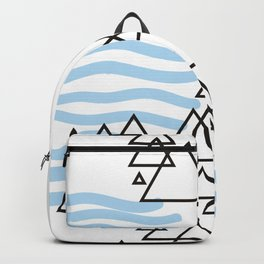 Ocean Mountains Island Backpack