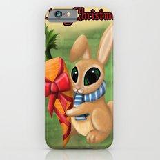 Bunny Xmas Card iPhone 6s Slim Case