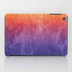 Purple, Pink, Orange Watercolor Gradient iPad Case