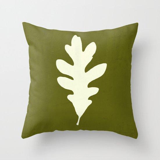 White Oak Throw Pillow