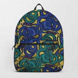Thai Naga Gold Backpack