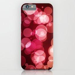 Bokeh Background iPhone Case