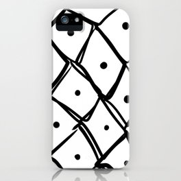 the ink blots 3 iPhone Case