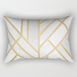Art Deco Geometry 2 Rectangular Pillow