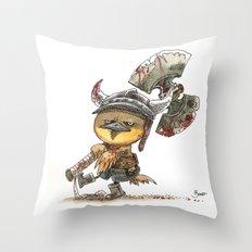 Poussin Barbare Throw Pillow