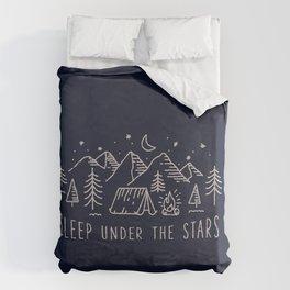Sleep under the stars Duvet Cover