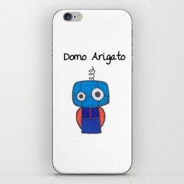Domo Arigato Mr. Roboto iPhone Skin