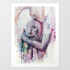 thought in metastasis Art Print