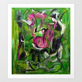 Sexual Energy (oil on canvas) Art Print