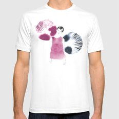 Gilda White Mens Fitted Tee MEDIUM