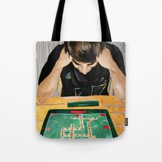 Puzzled Tote Bag