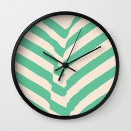 PARK PLANTS 002 — Matthew Korbel-Bowers Wall Clock