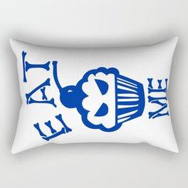 Eat Me (Blue Version) Rectangular Pillow