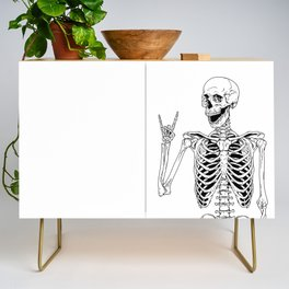 Rock and Roll Skeleton Credenza