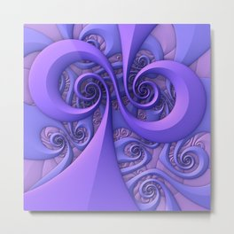 I Saw the Wind Today Metal Print