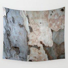 Bark Of A Eucalyptus Tree  Wall Tapestry
