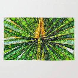 Mexican Fan Palm Leaf Rug