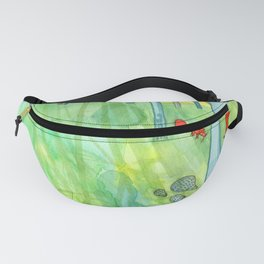 Summer Woods and Critters Fanny Pack