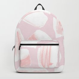 Brushstrokes Pattern Pink Backpack