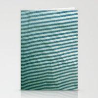 stripe Stationery Cards featuring stripe by erinreidphoto