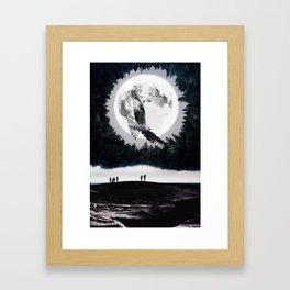 Between two worlds by GEN Z Framed Art Print