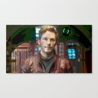 starlord Canvas Prints featuring Starlord by violethawk