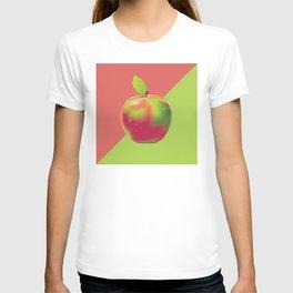 Red green apple T-shirt