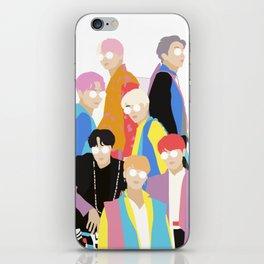 BTS IDOL Hanbok Illustration iPhone Skin