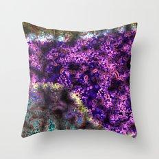 Cloudburst #3 Throw Pillow