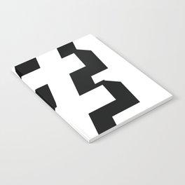 Big Hashtag Notebook