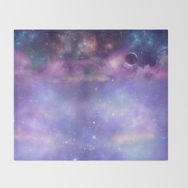 Trip to Neptune Throw Blanket