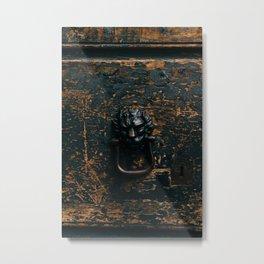 Roman Door XII Metal Print