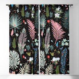 Magic Garden / Floral Pattern Blackout Curtain