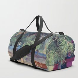 Green (protects) Duffle Bag