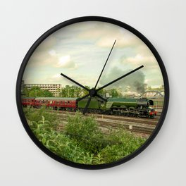 Flying Scotsman at Bristol Temple Meads Wall Clock