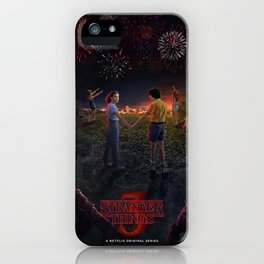 Stranger Thing Movie iPhone Case