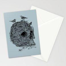 Skull Nest Stationery Cards