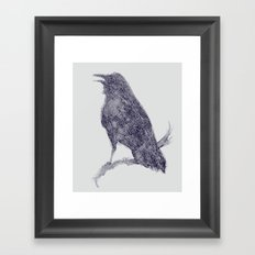 Nature's Cry Framed Art Print