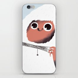 Yeti and spider. iPhone Skin