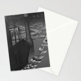 retro retro Intouris Odessa poster Stationery Cards