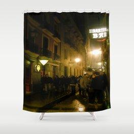 Nights in Bilbao Shower Curtain