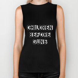 Children Before Guns Biker Tank