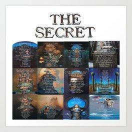 The Secret Treasure Hunt Art Art Print