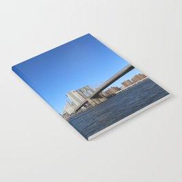 Manhattan Skyline with Bridges Notebook