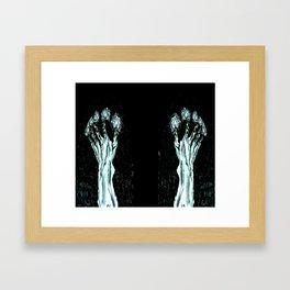 Hands of Glory Framed Art Print