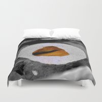 the cure Duvet Covers featuring The Cure by HourAfterOur Collective